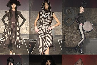 Gareth Pugh AW05-6 collection.