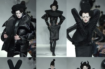 Gareth Pugh AW06-7 collection.