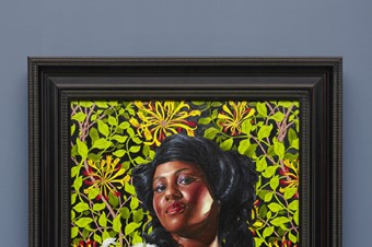 Mary Little, Later Lady Carr, 2012 oil on canvas f
