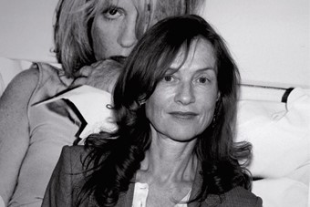 Photograph of Isabelle Huppert by Isabel Croixet