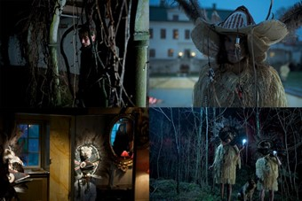 """Stills from Fever Ray's Video """"If I had a Heart"""" c"""