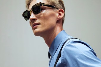 Fendi SS15 Mens collections, Dazed backstage