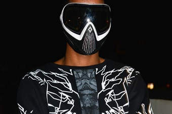 Marcelo Burlon SS15 Mens collections, Dazed backstage