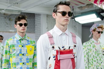 Kit Neale SS15 Mens collections, Dazed