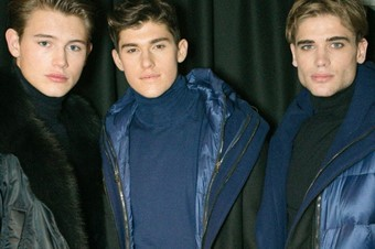 Backstage at Ermanno Scervino AW14