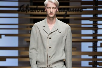 Salvatore Ferragamo SS15 Mens collections