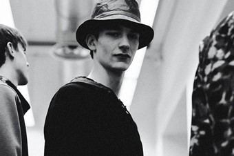 Iceberg SS15 Mens collections, Dazed backstage