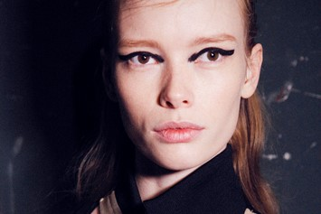Paco Rabanne AW15, Dazed backstage, Womenswear, Paris