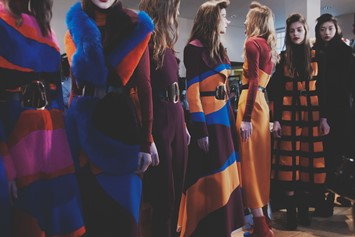 Roksanda AW15, Womenswear, London, Fashion Week group