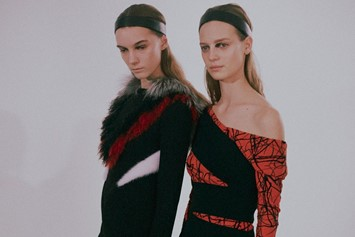 Proenza Schouler AW15, Abstract Expressionism, Fishnet Tight