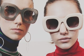 Jonathan Saunders AW15 Dazed Womenswear 60s sunglasses