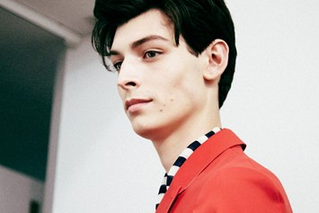 Gucci SS15 Mens collections, Dazed backstage
