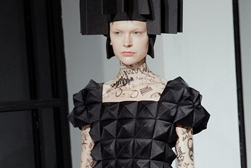 Junya Watanabe AW15, Dazed runway, Womenswear, Paris