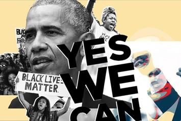 Obama, Yes We Can, Collage