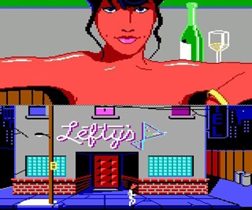 banner - Leisure  Suit Larry - a classic among 90s