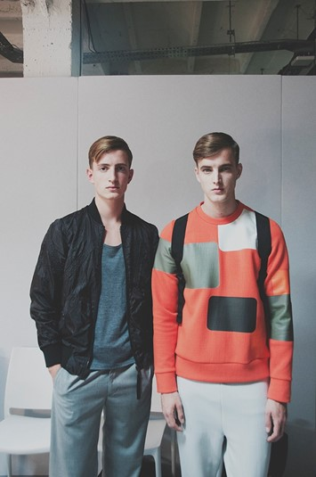 Christopher Raeburn SS15 Mens collections, Dazed backstage