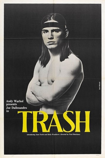 Joe Dallesandro in Paul Morrissey's Trash (1970)