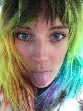 Dazed Rodarte takeover model Q&A  Chloe Norgaard