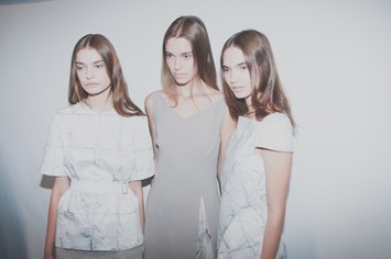 Marios Schwab SS15 backstage Dazed