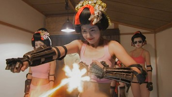 Still from RoboGeisha