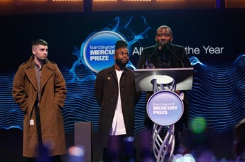 2014 Barclaycard Mercury Prize Winners Young Fathe