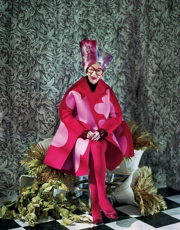 Jeff Bark Iris Apfel