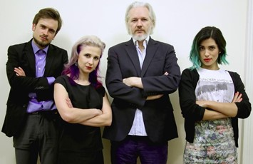 Pussy Riot Julian Assange Courage Foundation