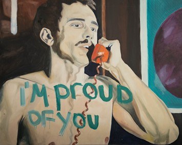 James Franco art