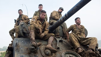 Fury Brad Pitt press photo