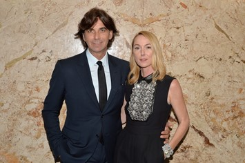 Gucci+Beauty+Launch+Event+Hosted+Frida+Giannini+TB