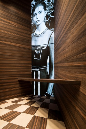 Martino Gamper Prada Corners installation window displays
