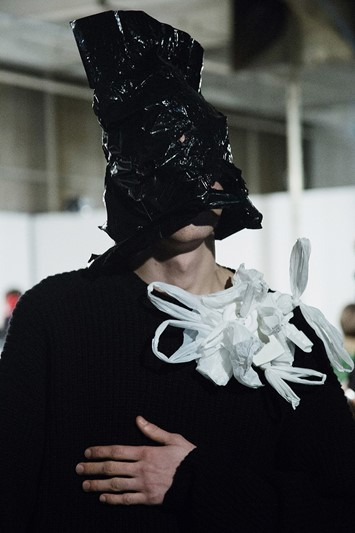 Christopher Shannon AW15 Mens backstage LC:M Dazed