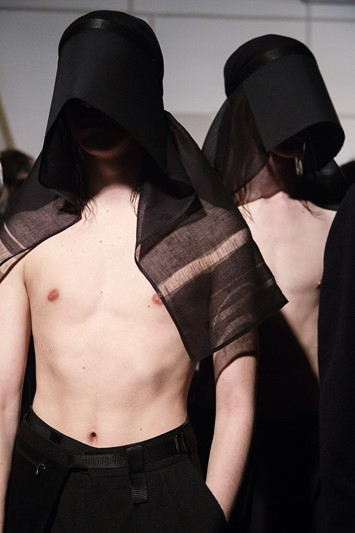 MAN Rory Parnell-Mooney Dazed AW15 Backstage
