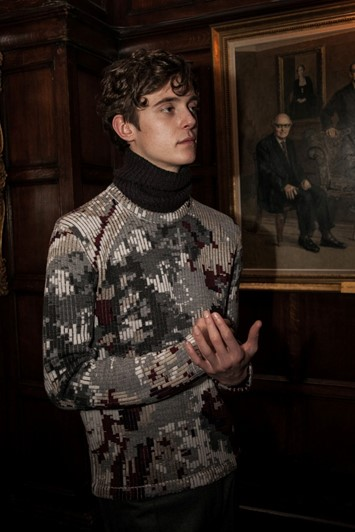 Pringle Of Scotland AW15, Menswear, Dazed