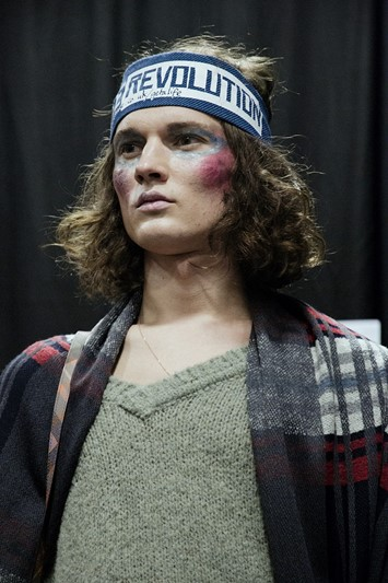 Vivienne Westwood AW15 revolution band, Menswear, Dazed