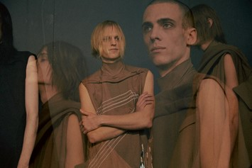 Rick Owens AW15 Dazed backstage Sphinx