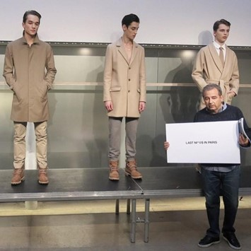 APC founder Jean Touitou controversial collection