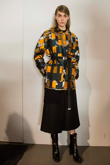 Opening Ceremony AW15, Dazed, womenswear, square pattern