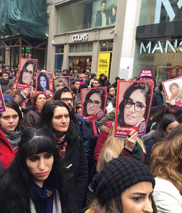 Özgecan Aslan protests in Turkey