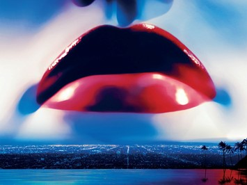 "The first official image from ""The Neon Demon"""