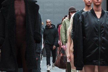 Kanye West adidas New York Fashion Week show