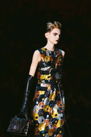 Marc Jacobs AW15 Dazed Womenswear runway Molly Bair