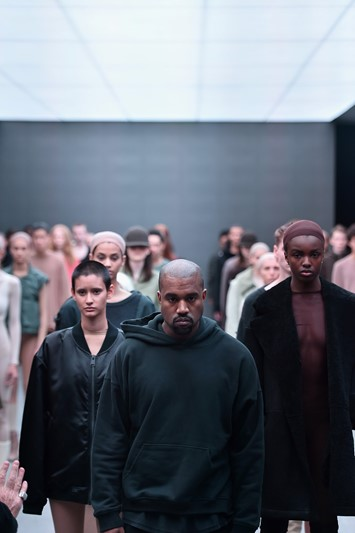 Kanye West adidas New York Fashion Week NYFW