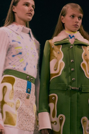 Peter Pilotto AW15, Womenswear, Dazed, London 70s coat