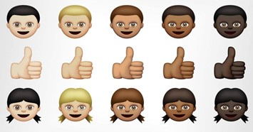 Apple racially diverse emoji