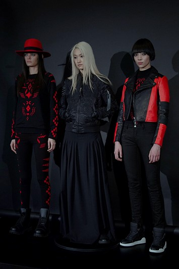 Marcelo Burlon County of Milan AW15 Womenswear gaucho