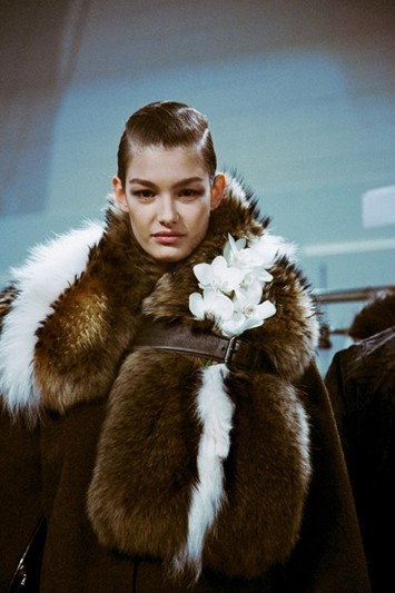 Fendi AW15 fur coat