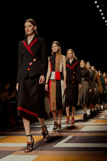 Salvatore Ferragamo AW15 Womenswear Dazed runway finale