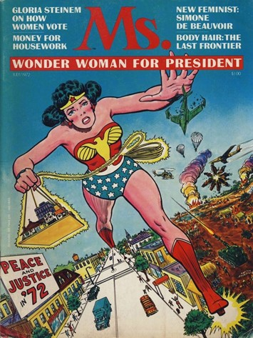 Wonder Woman Ms magazine