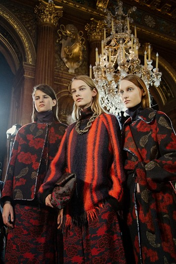 Dries Van Noten AW15, Dazed backstage, Paris, Womenswear